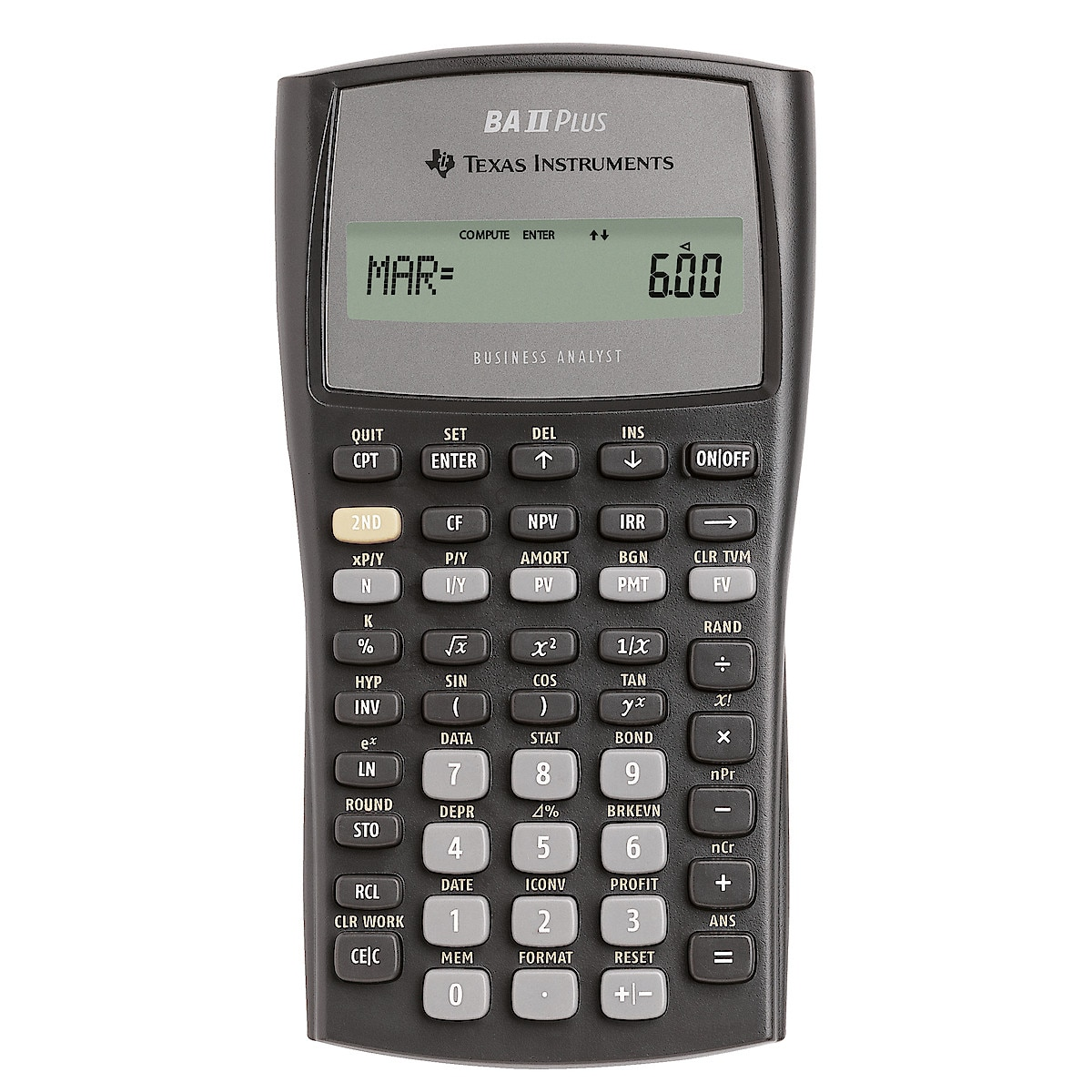 Texas Instruments BAII Plus kalkulator