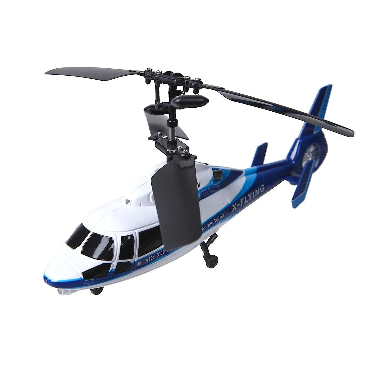Radiostyrd bil och helikopter