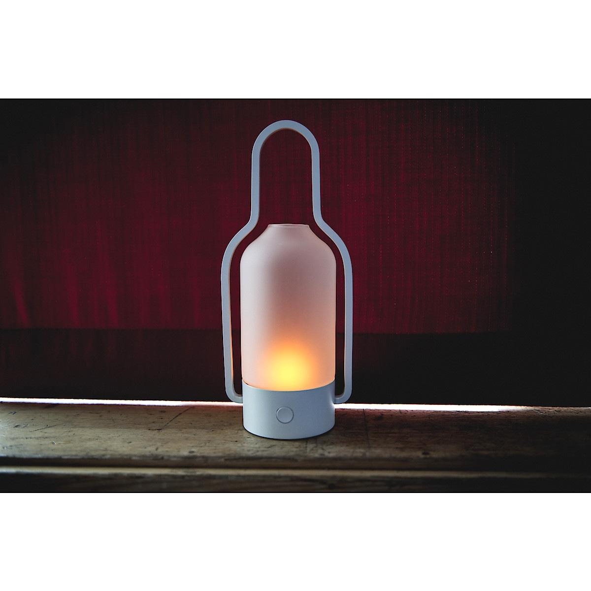 Lykt med LED-belysning