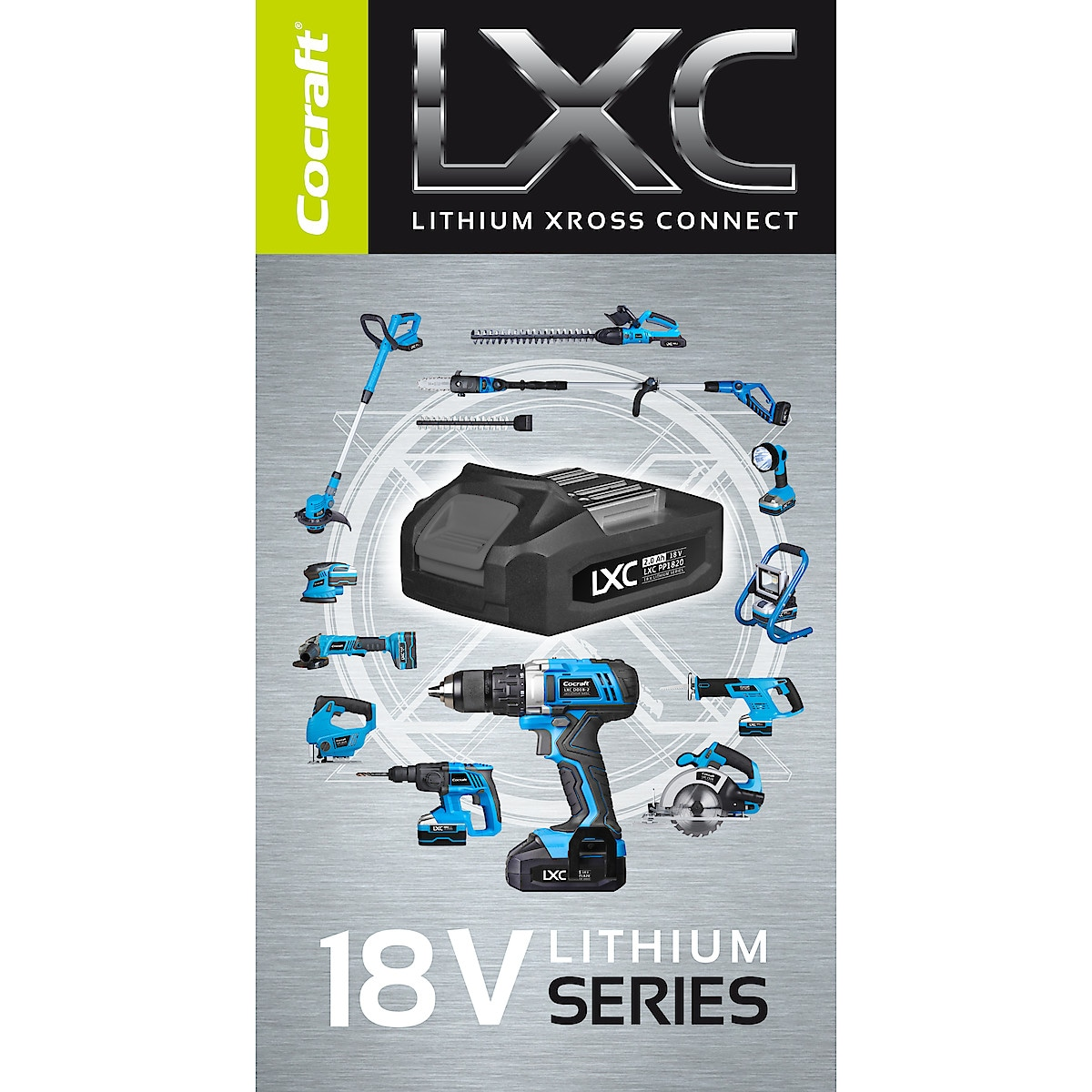 Vinkelslip Cocraft LXC AG18