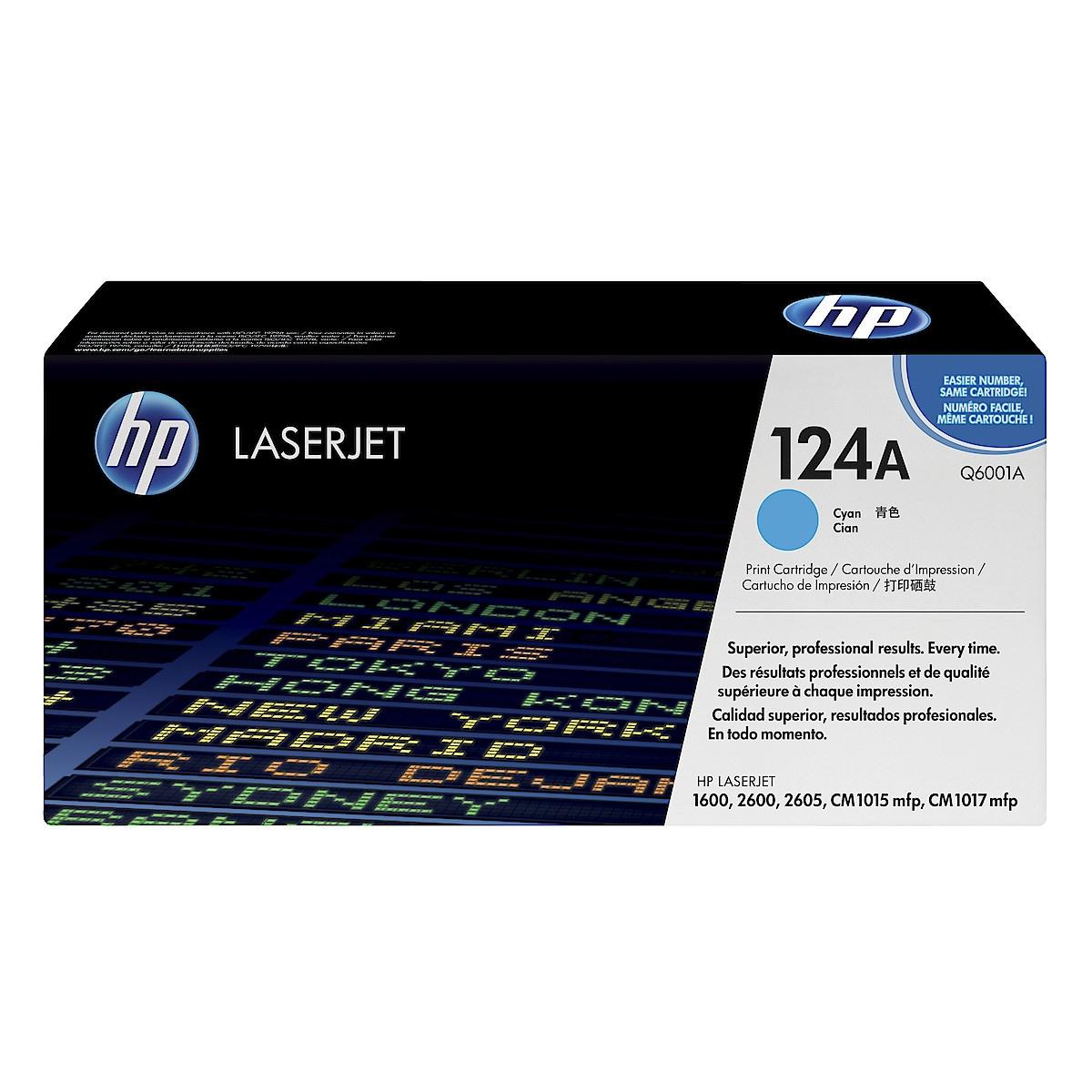 Värikasetti HP 124A