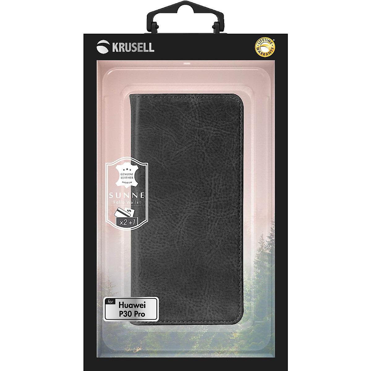 Krusell Sunne FolioWallet lommebokfutteral for Huawei P30 Pro