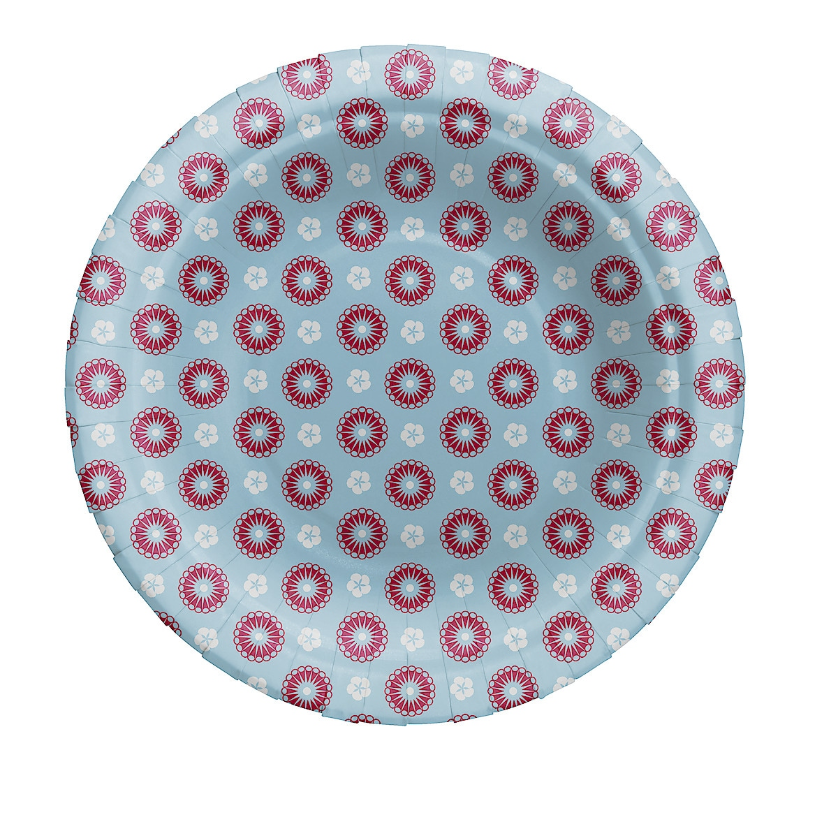18 cm Patterned Paper Plate