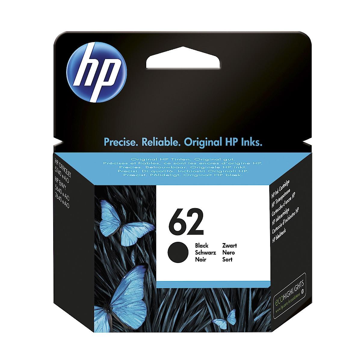 Mustepatruuna HP 62