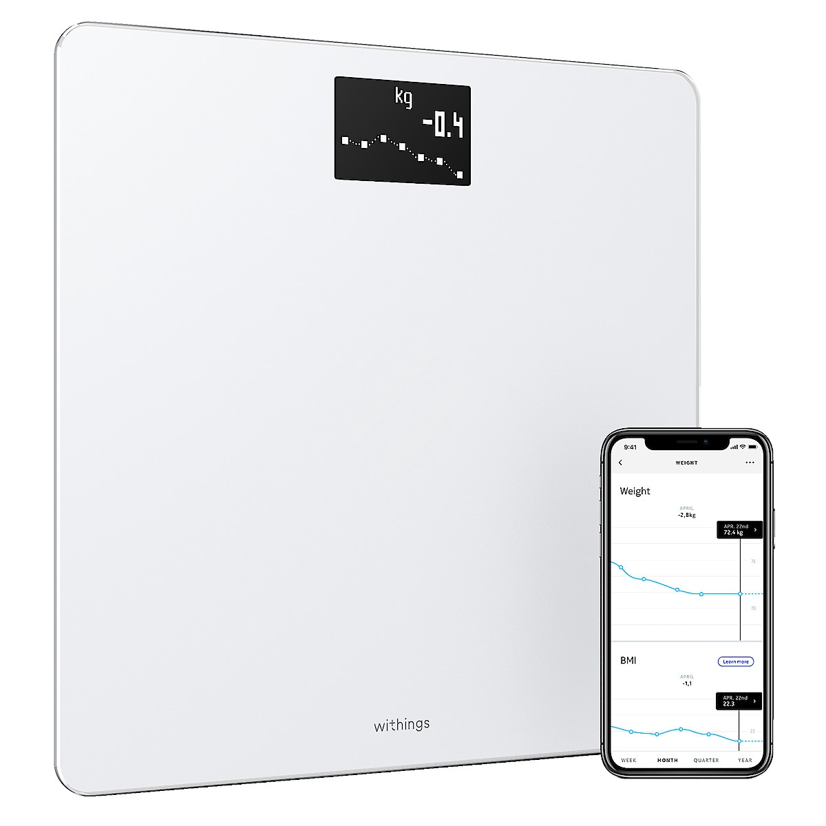 Withings Wi-Fi Body, personvåg