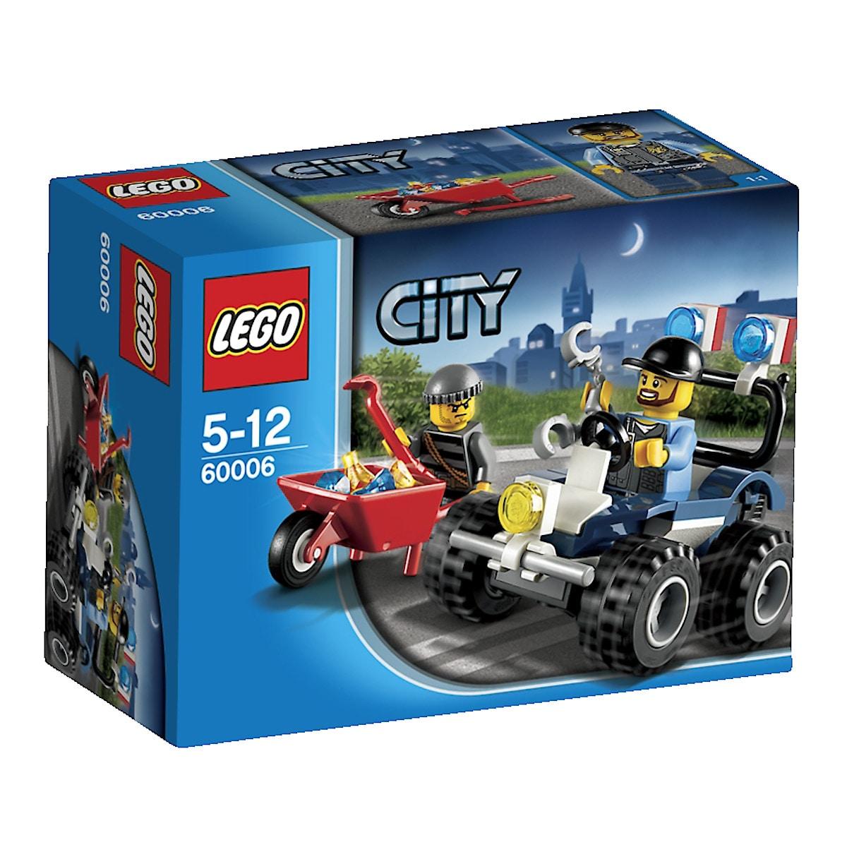Polisfyrhjuling Lego City