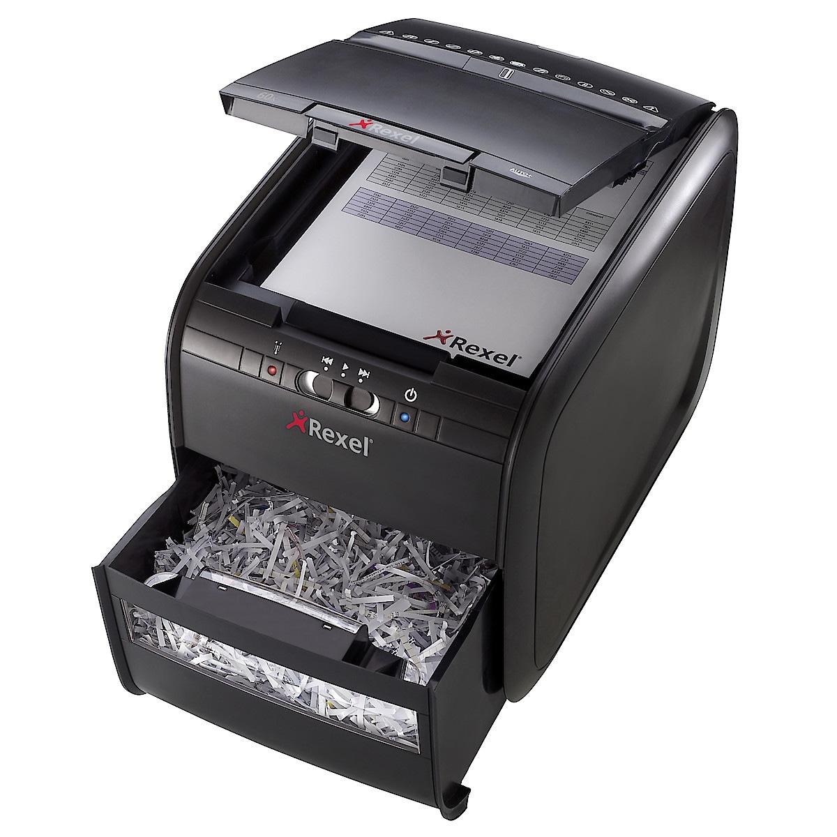 Rexel Auto+ 60 Cross-Cut Paper Shredder