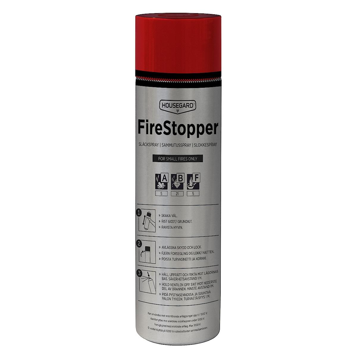 Släckspray Housegard Firestopper