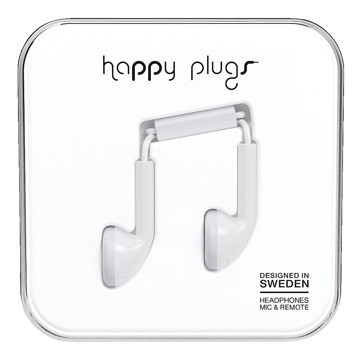 Hörlurar med mikrofon Happy Plugs Earbud