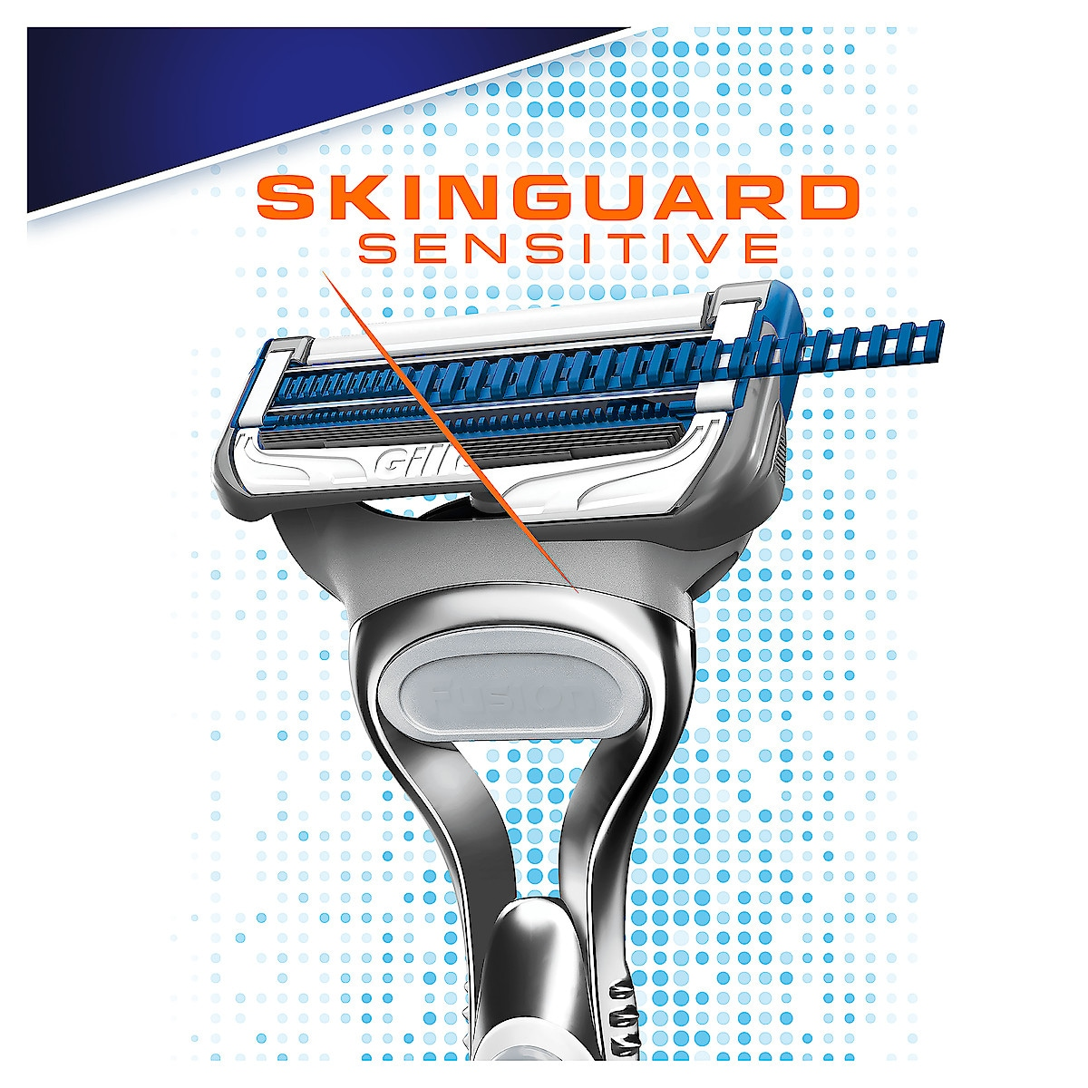 Rakblad Gillette SkinGuard Sensitive 4-pack