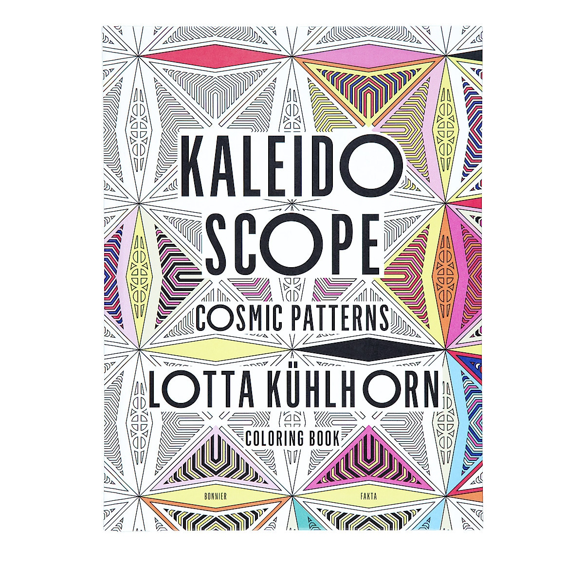 Kaleidoscope Adult Colouring Book