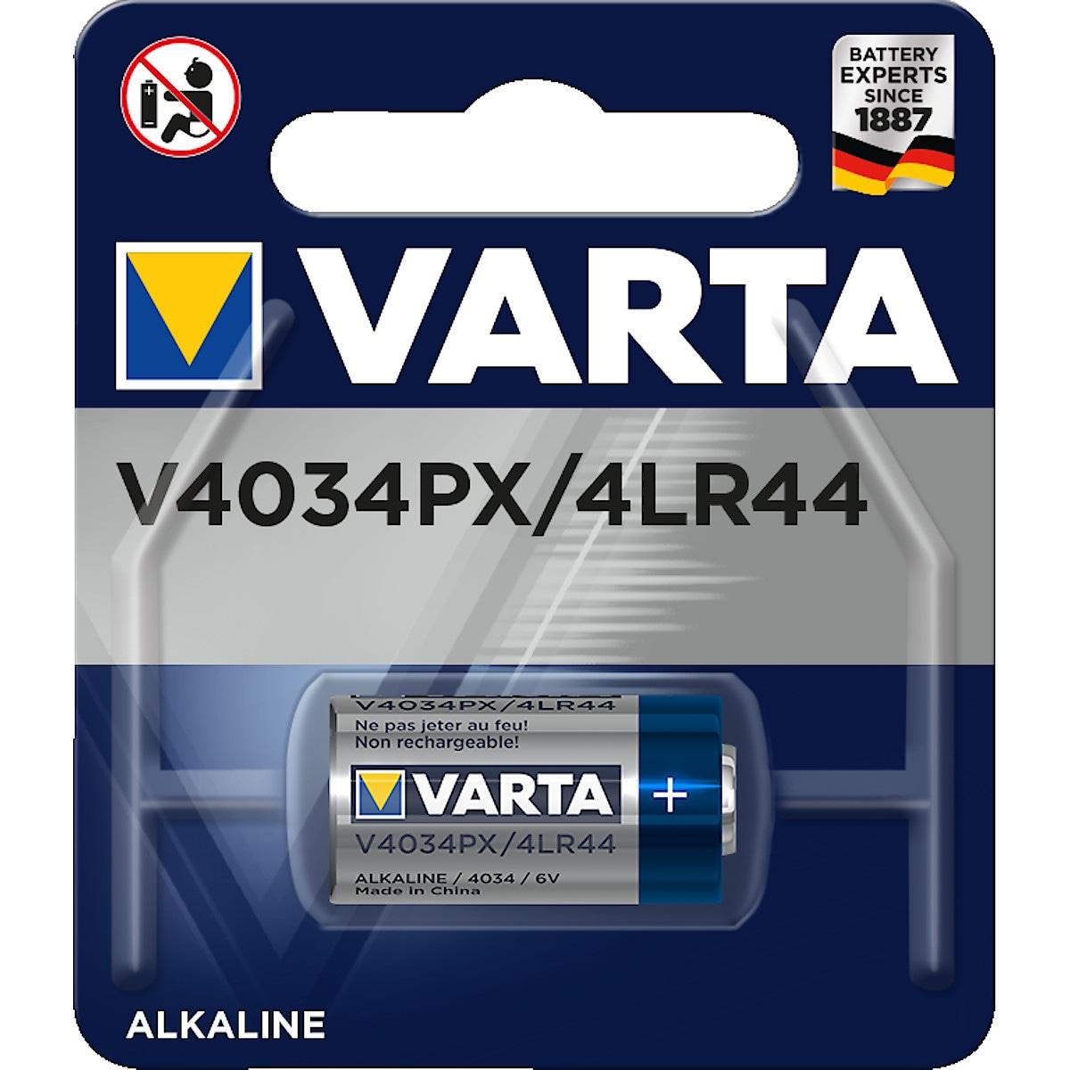 Alkaliparistot VARTA V4034