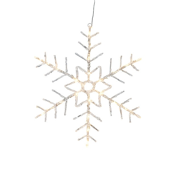 LED snøstjerne   Clas Ohlson