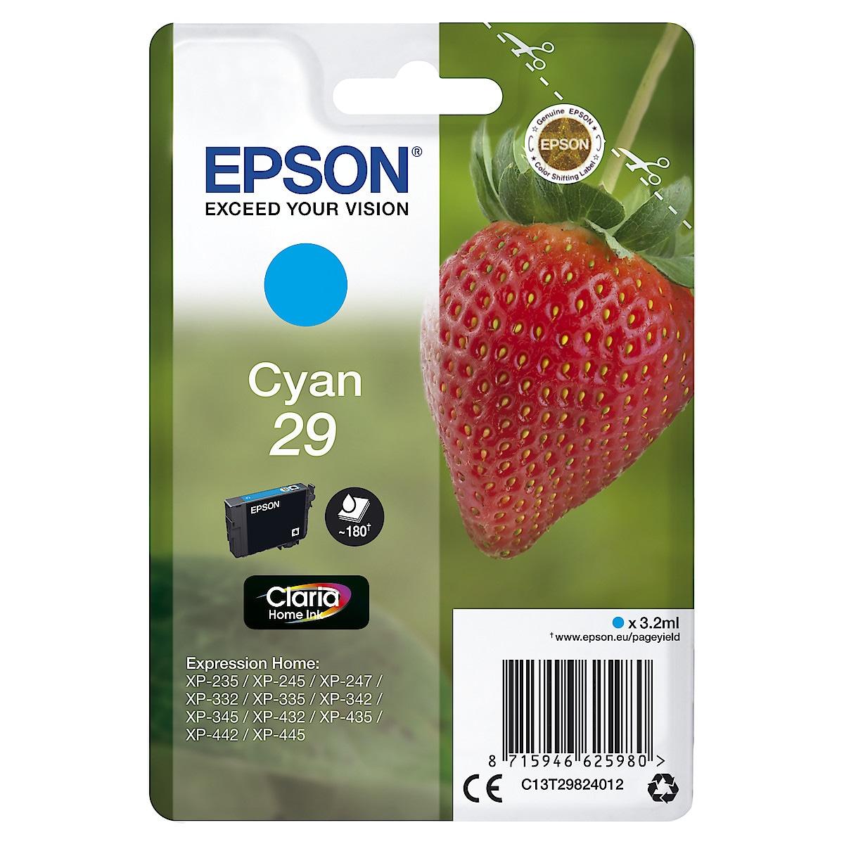 Bläckpatron Epson 29