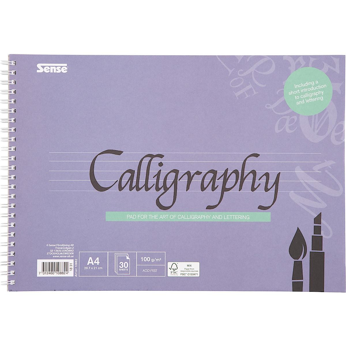 Kalligrafiblock