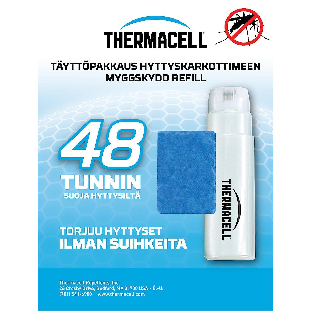 Täyttöpakkaus hyttyskarkottimeen Thermacell 4 kpl