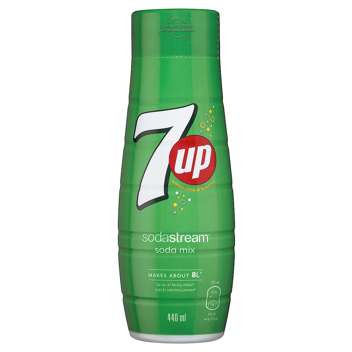 Sodastream Pepsi 7UP smakkoncentrat 440 ml
