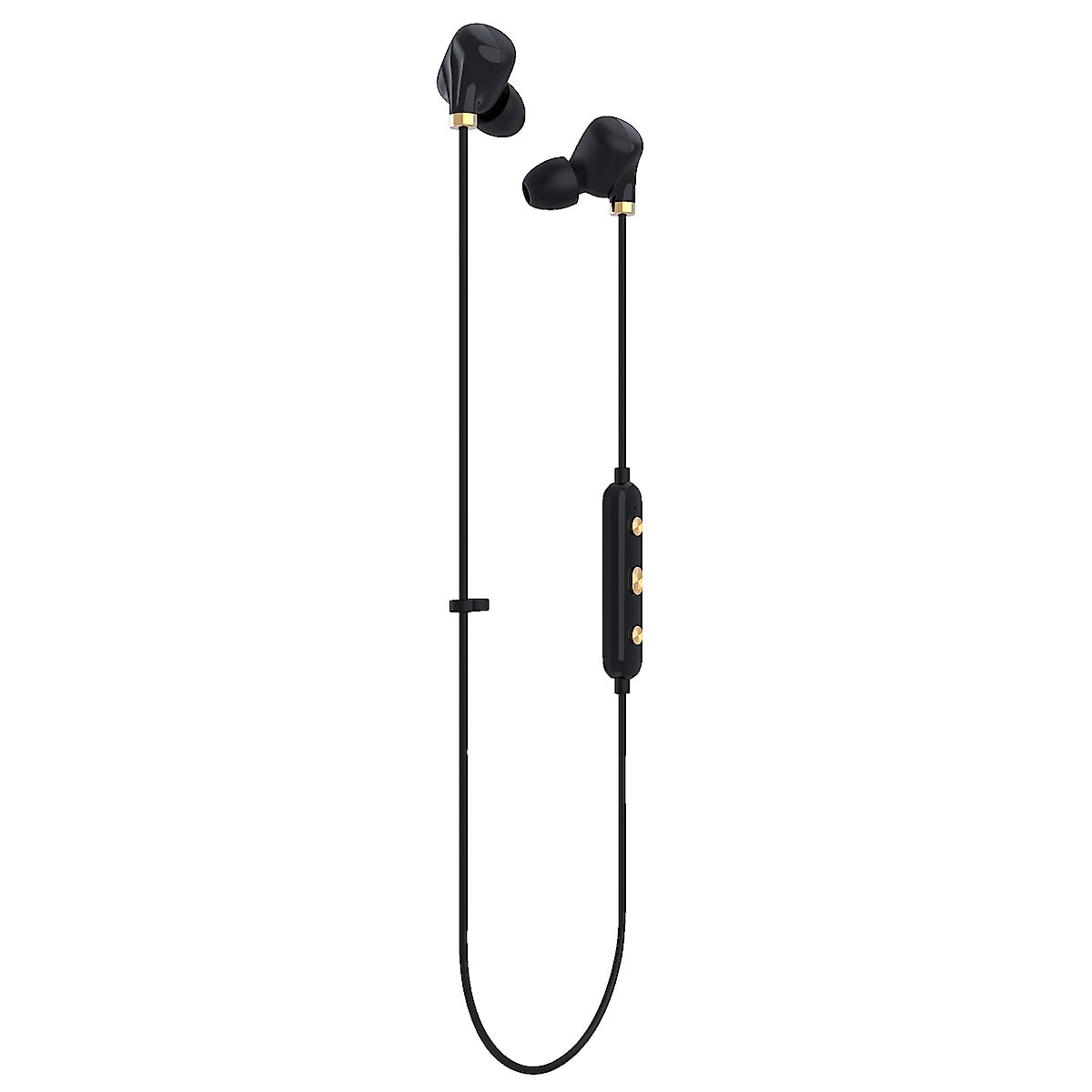 Trådlösa hörlurar med mikrofon Happy Plugs Wireless Ear Piece II