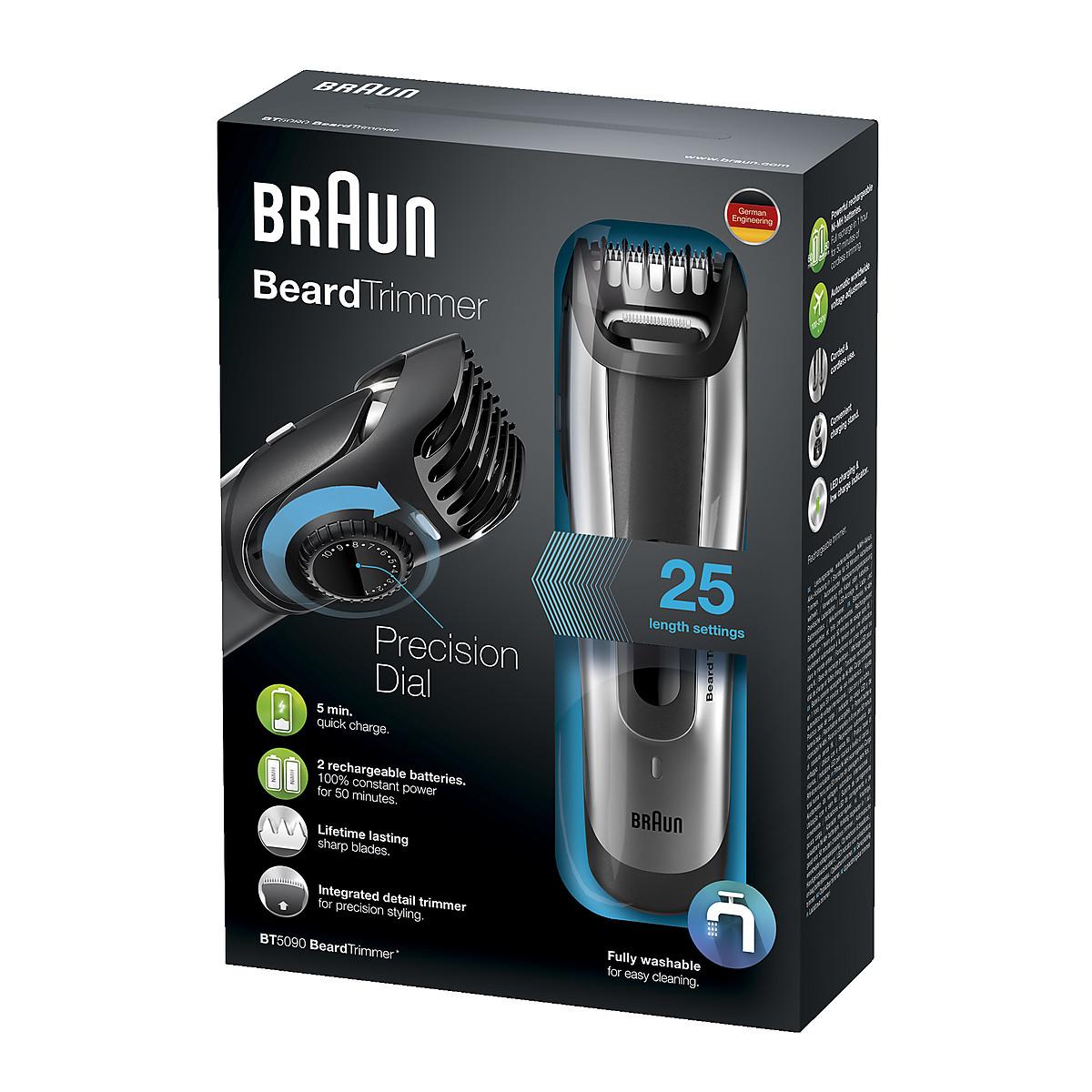 Skäggtrimmer Braun BT5090