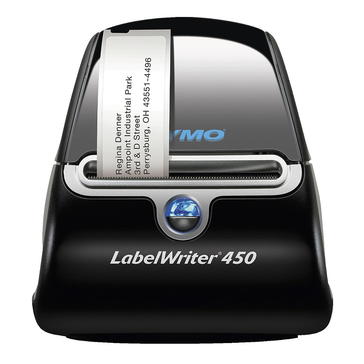 Etikettskrivare med etiketter, Dymo LabelWriter 450