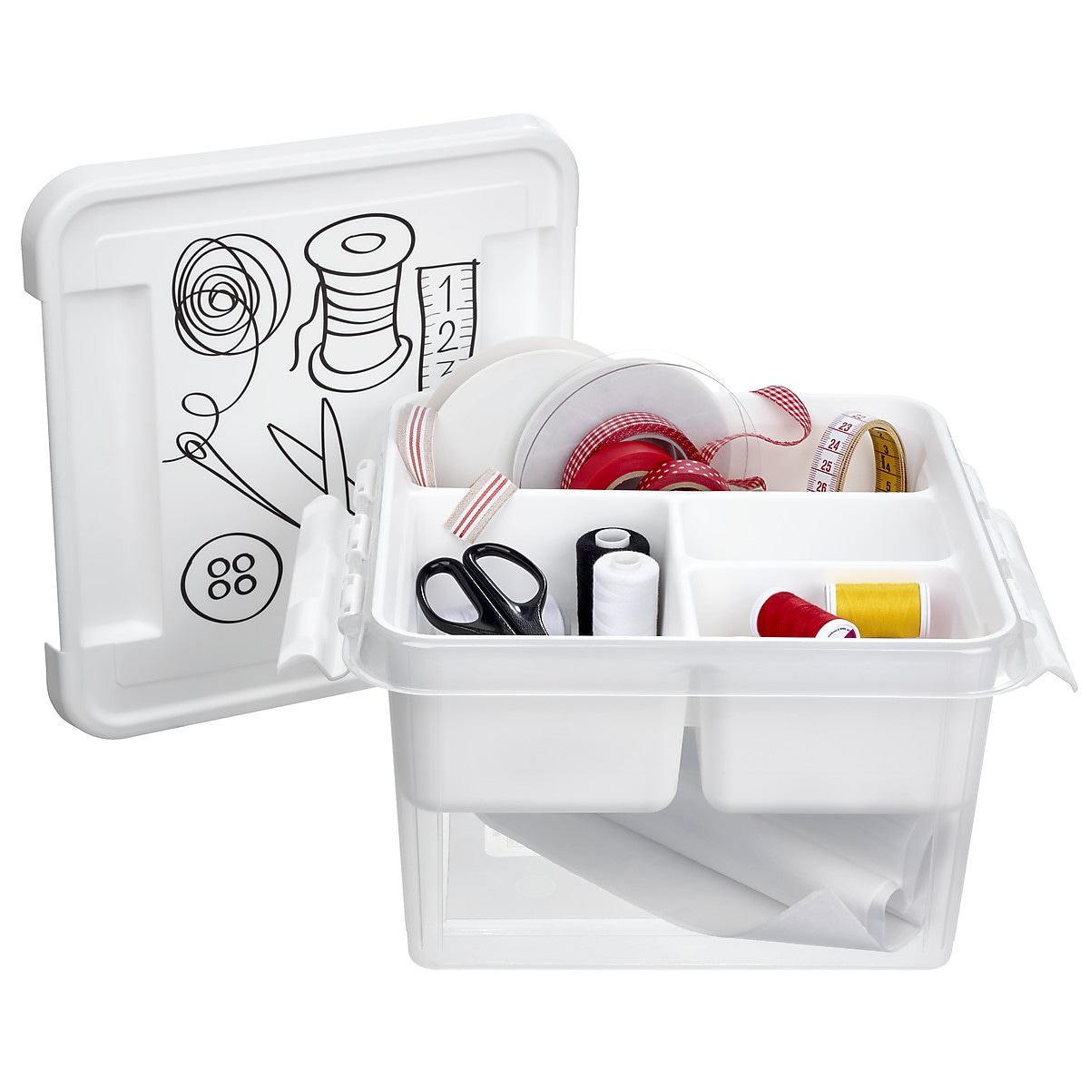 Förvaringsbox för sybehör SmartStore Deco