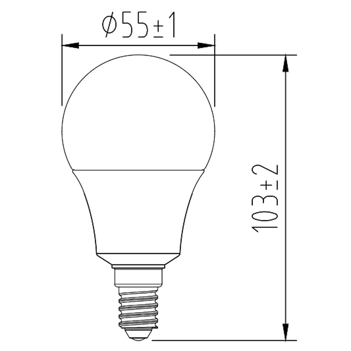 WiFi Smart Bulb E14 Clas Ohlson Home