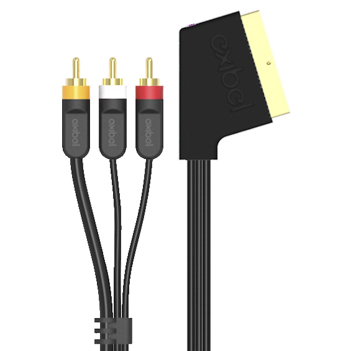 Adapterkabel SCART Exibel