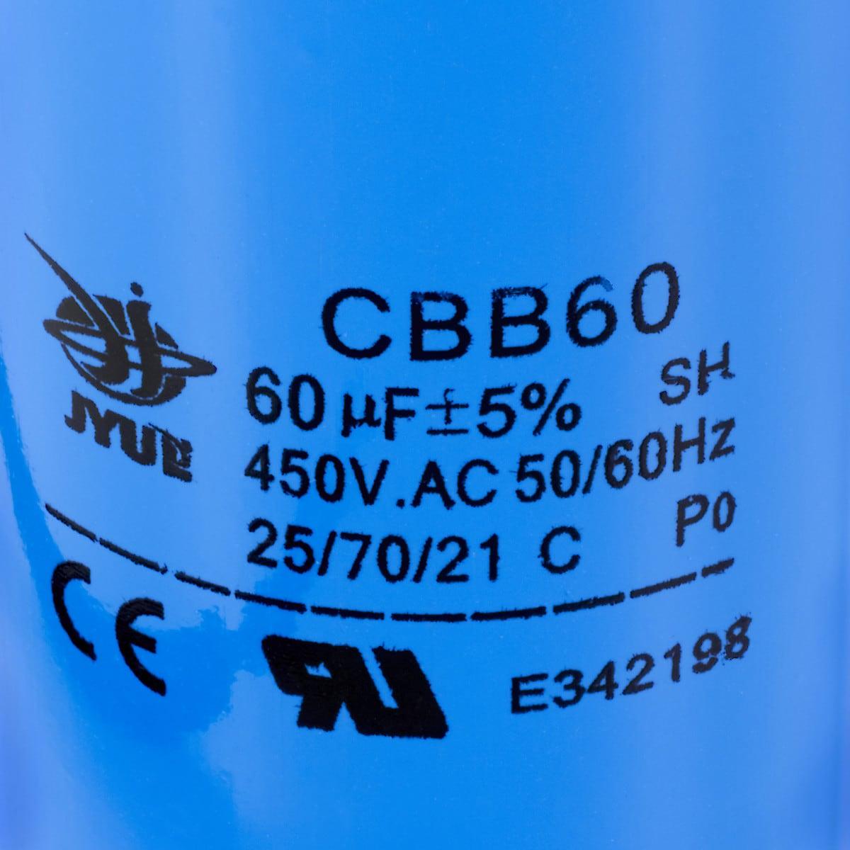 Kondensaattori 60 µF CBB60