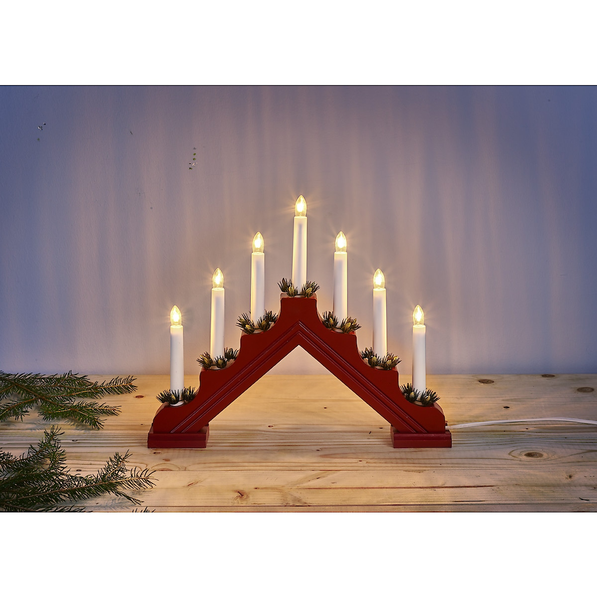 Adam Christmas Candle Bridge