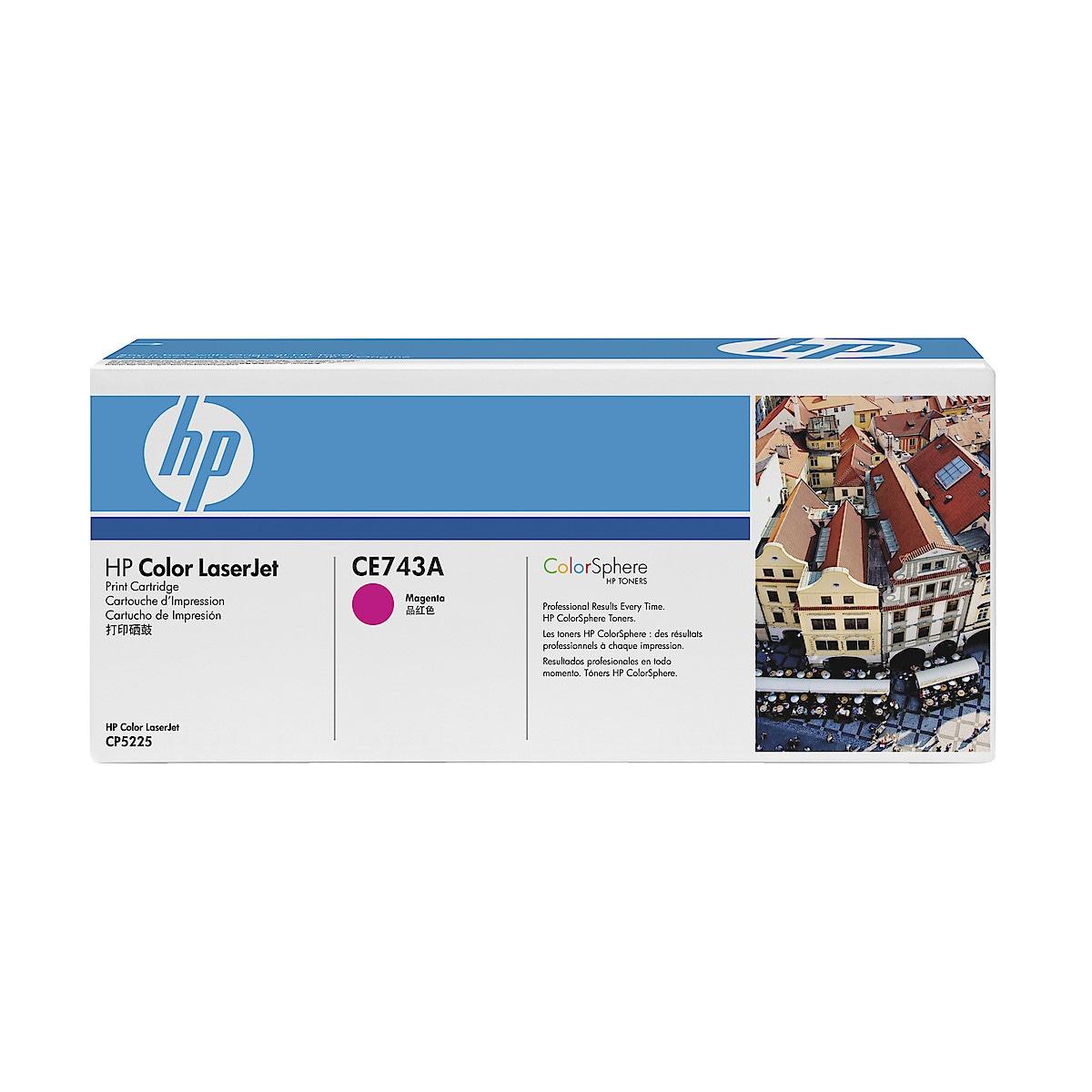Toner for laserskrivere HP CE740A