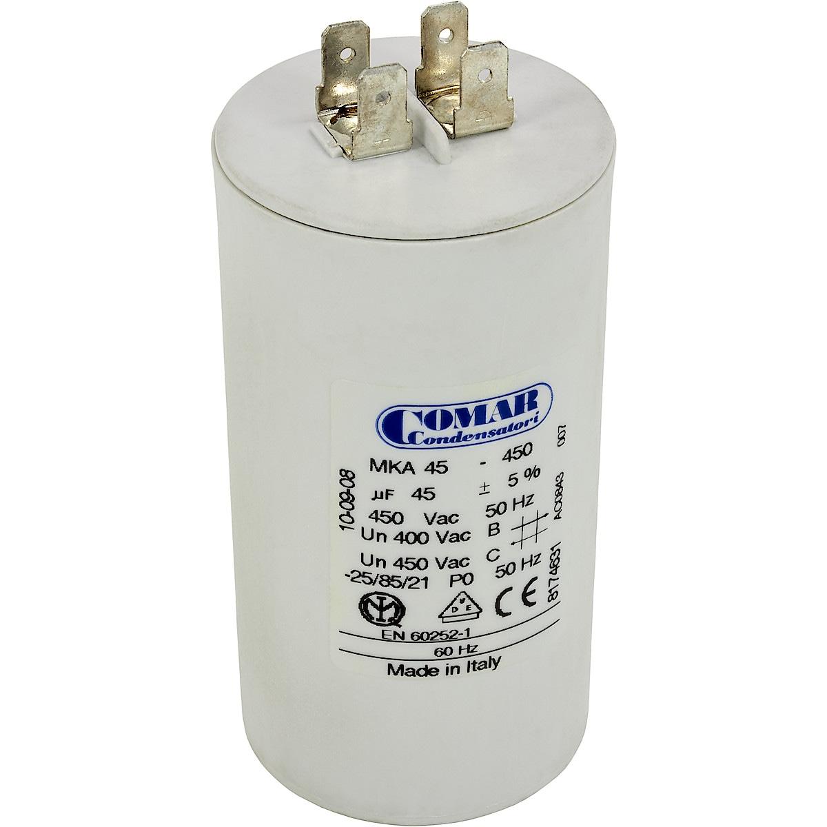 Kondensaattori 45 µF