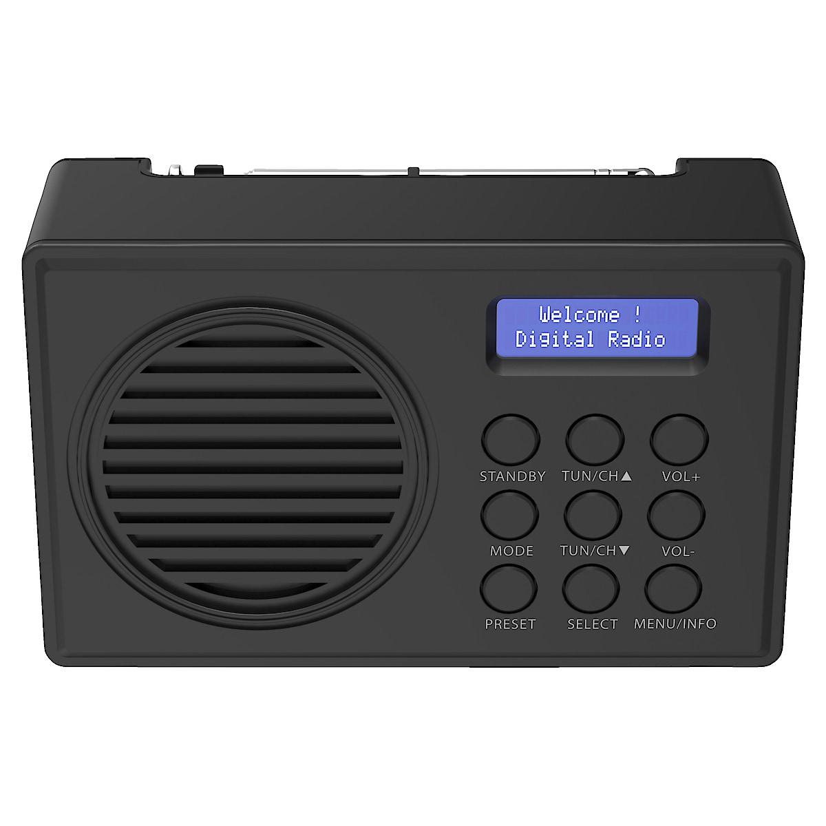 Exibel DABX21, DAB+/FM-radio