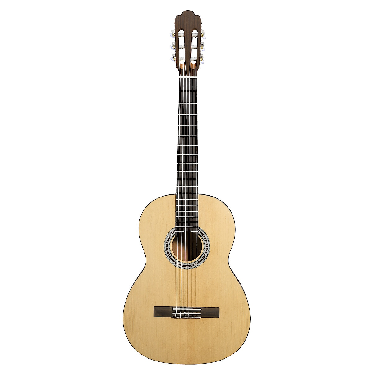 Nylonsträngad akustisk gitarr Rivertone