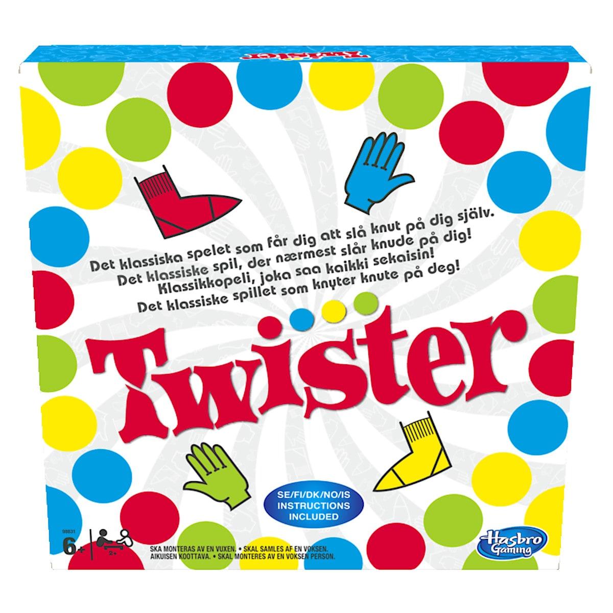 Twister - selskapsspill fra Hasbro