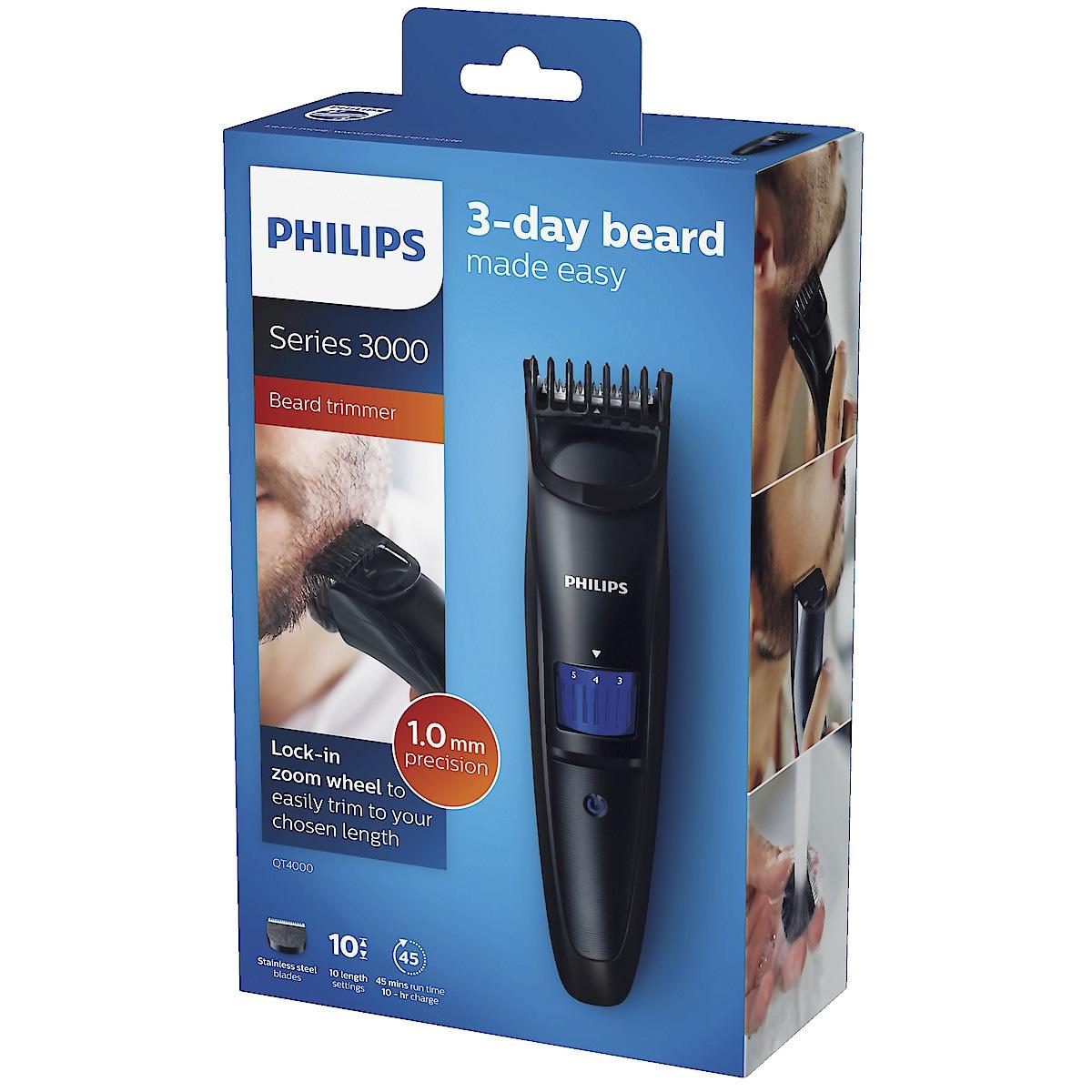 Philips QT4000/15 skjeggtrimmer
