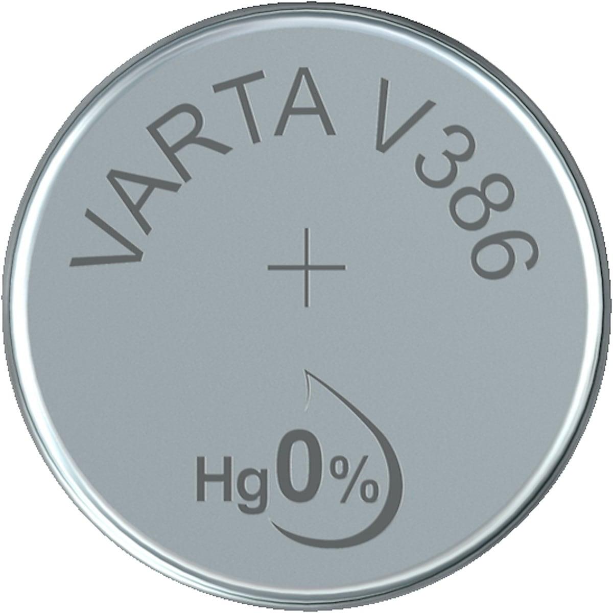 Knappcellsbatteri V386/SR43 VARTA