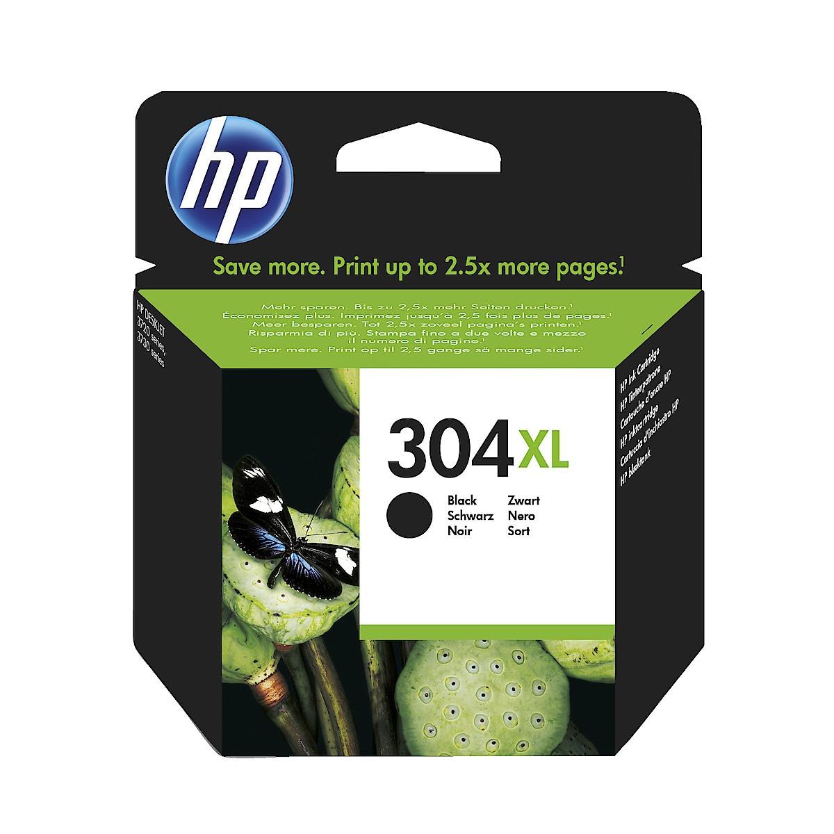 Mustepatruuna HP 304