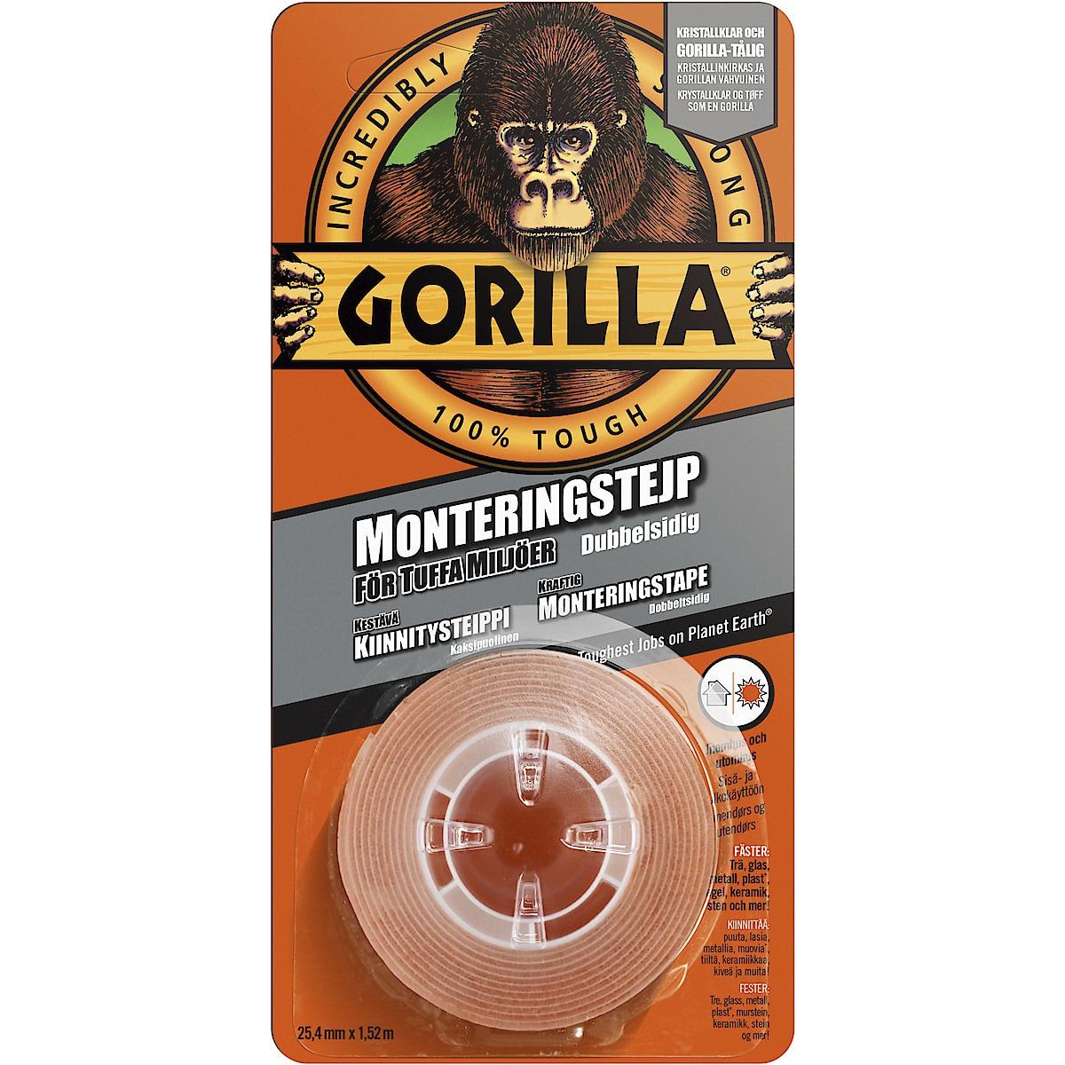 Monteringstejp Gorilla