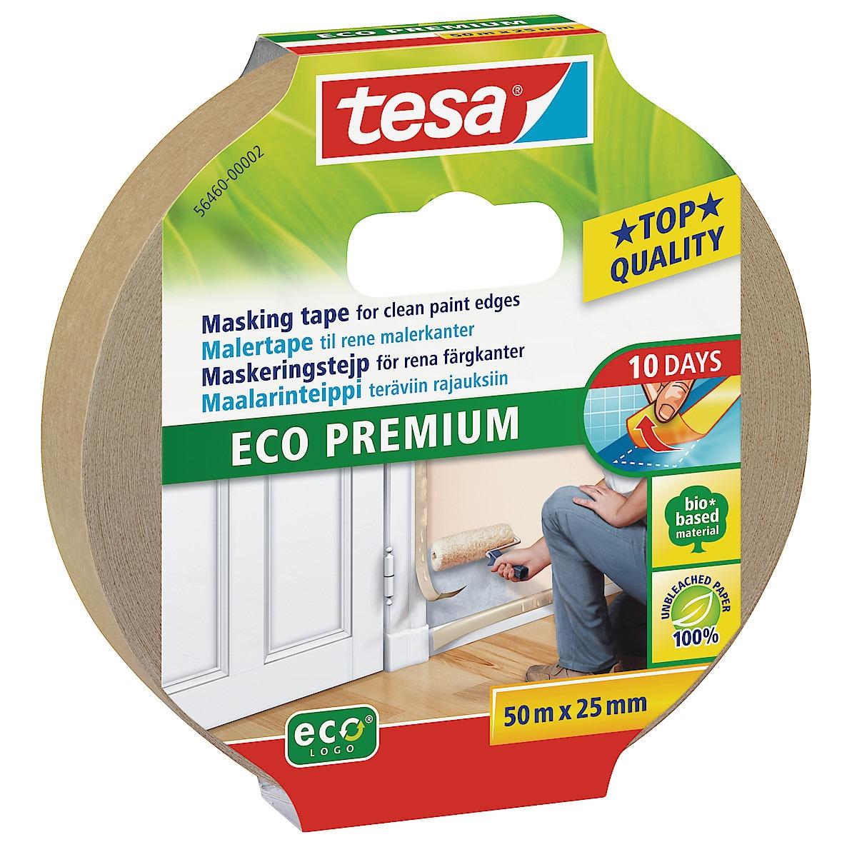Tesa Eco Premium maskeringsteip