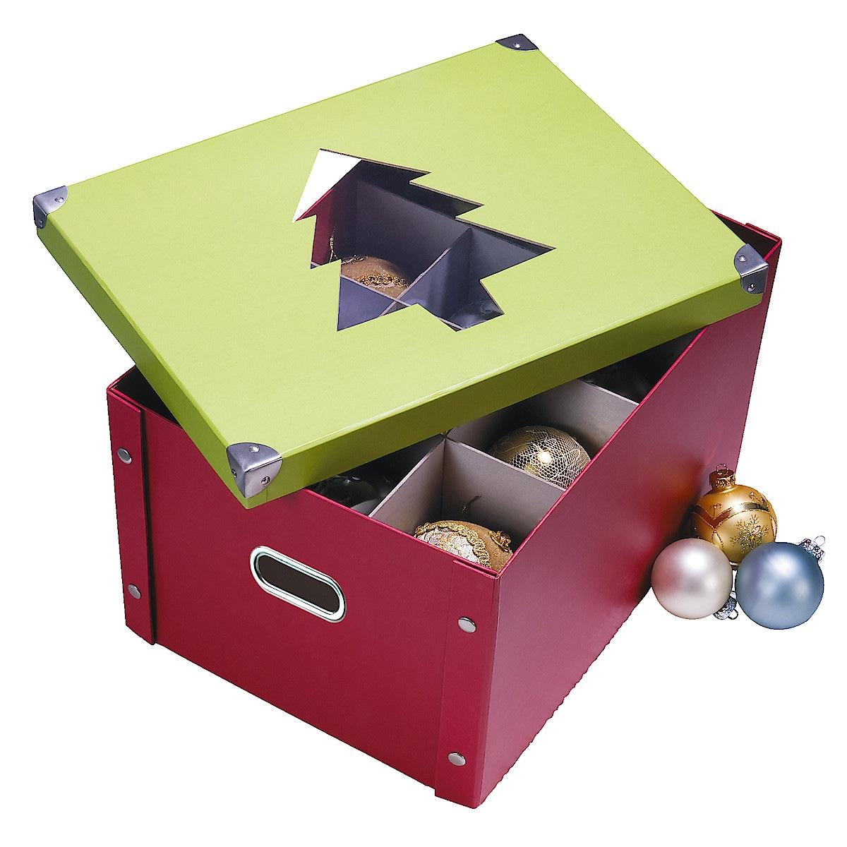 Förvaringsbox för julkulor