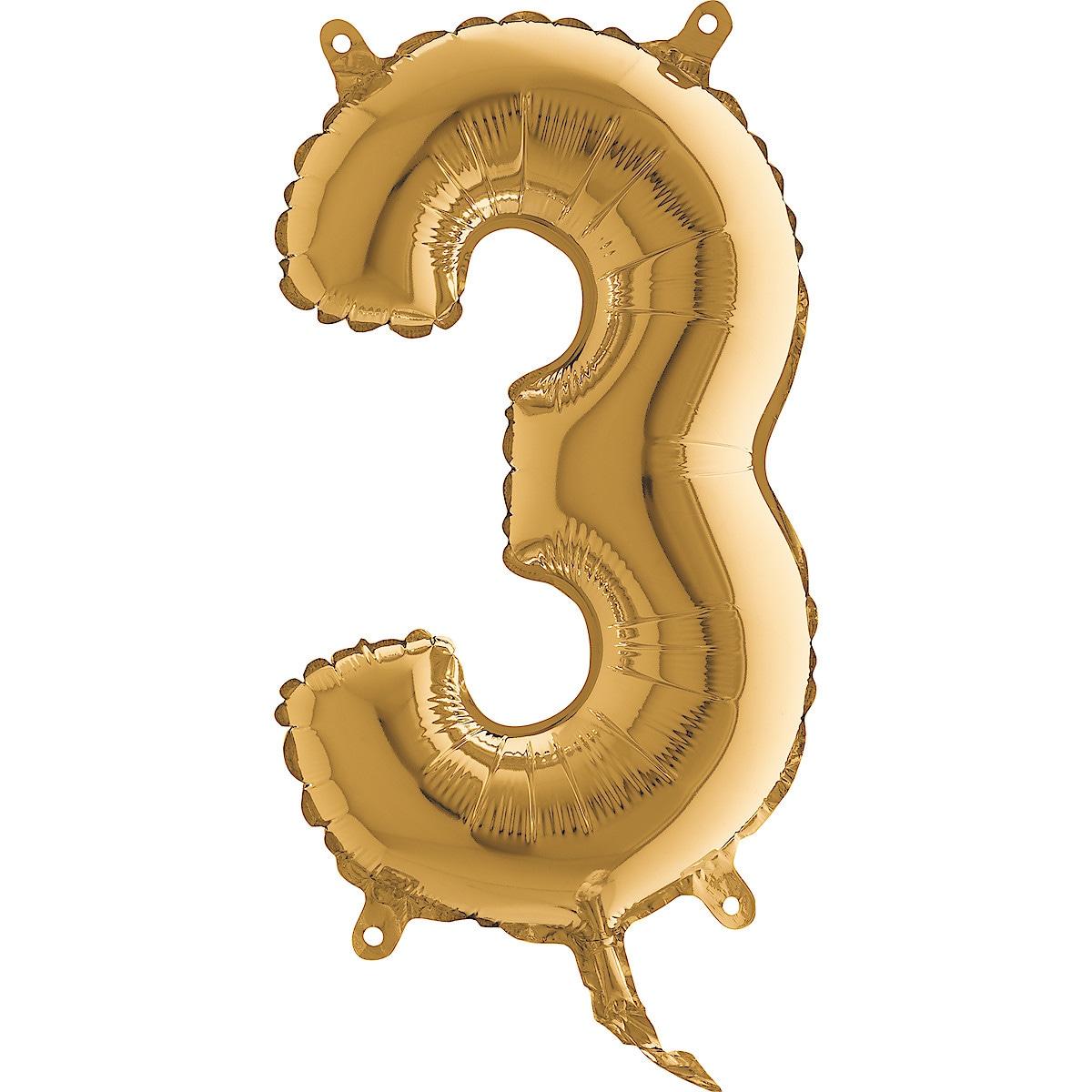 Sifferballong guld