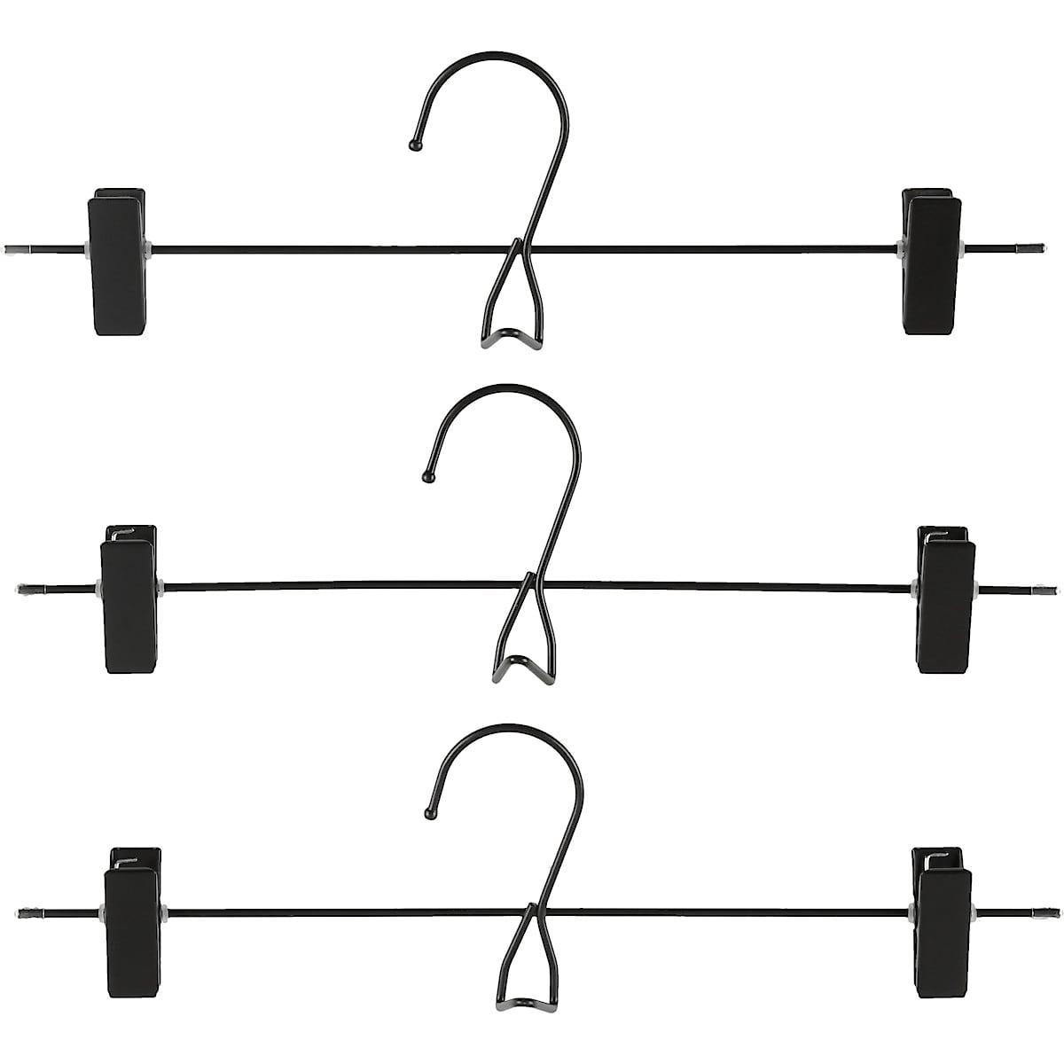 Buksehenger/skjørtehenger i metall, 3 pk
