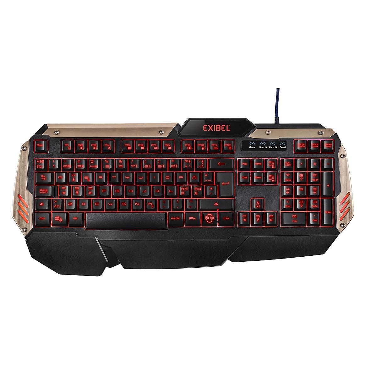 Gaming-tangentbord Exibel GKX-6