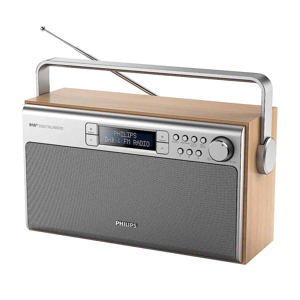 Philips AE5220 DAB+/FM-radio