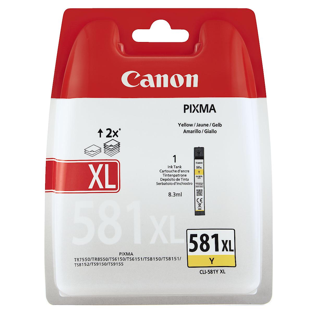 Bläckpatron Canon PGI-580/CLI-581