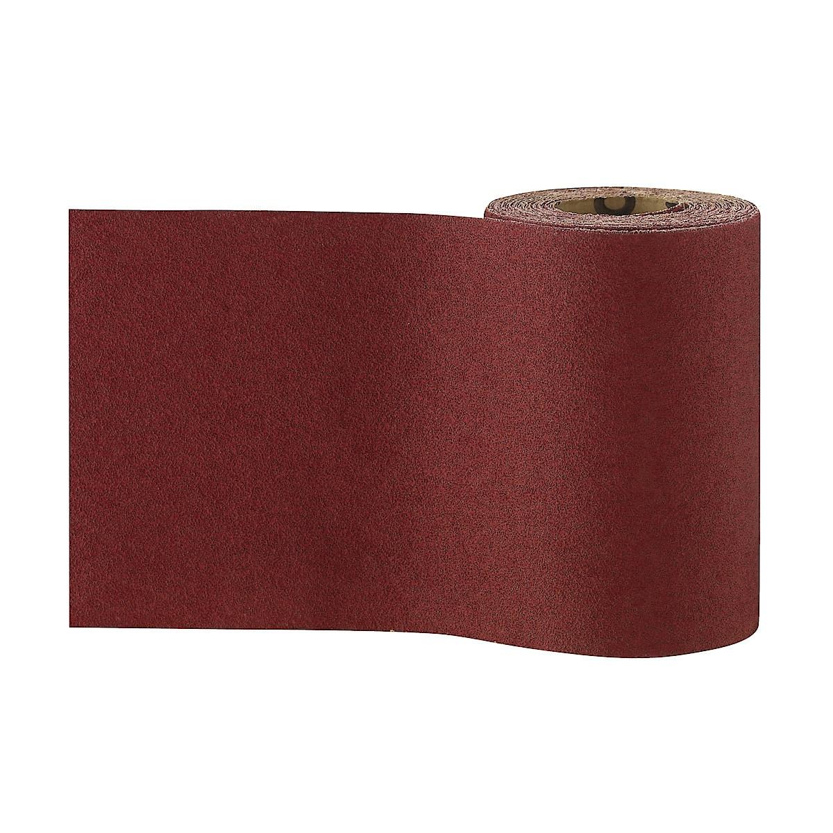 Slippapper med aluminiumoxid 115 mm
