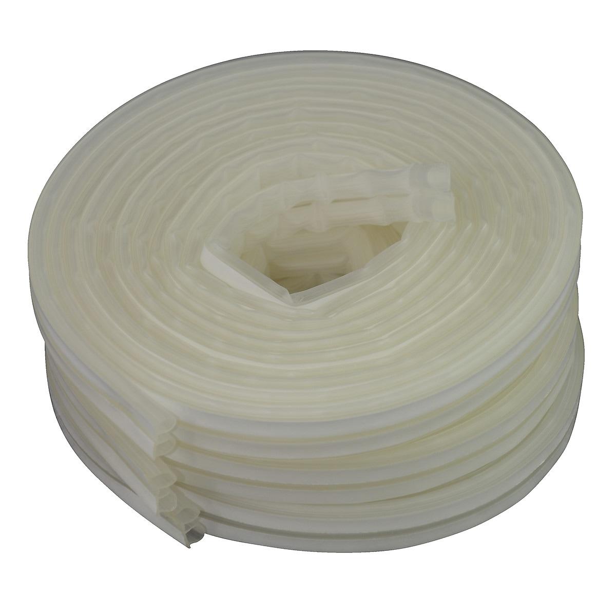 Tätningslist Omega-profil transparent, Stokvis Tapes