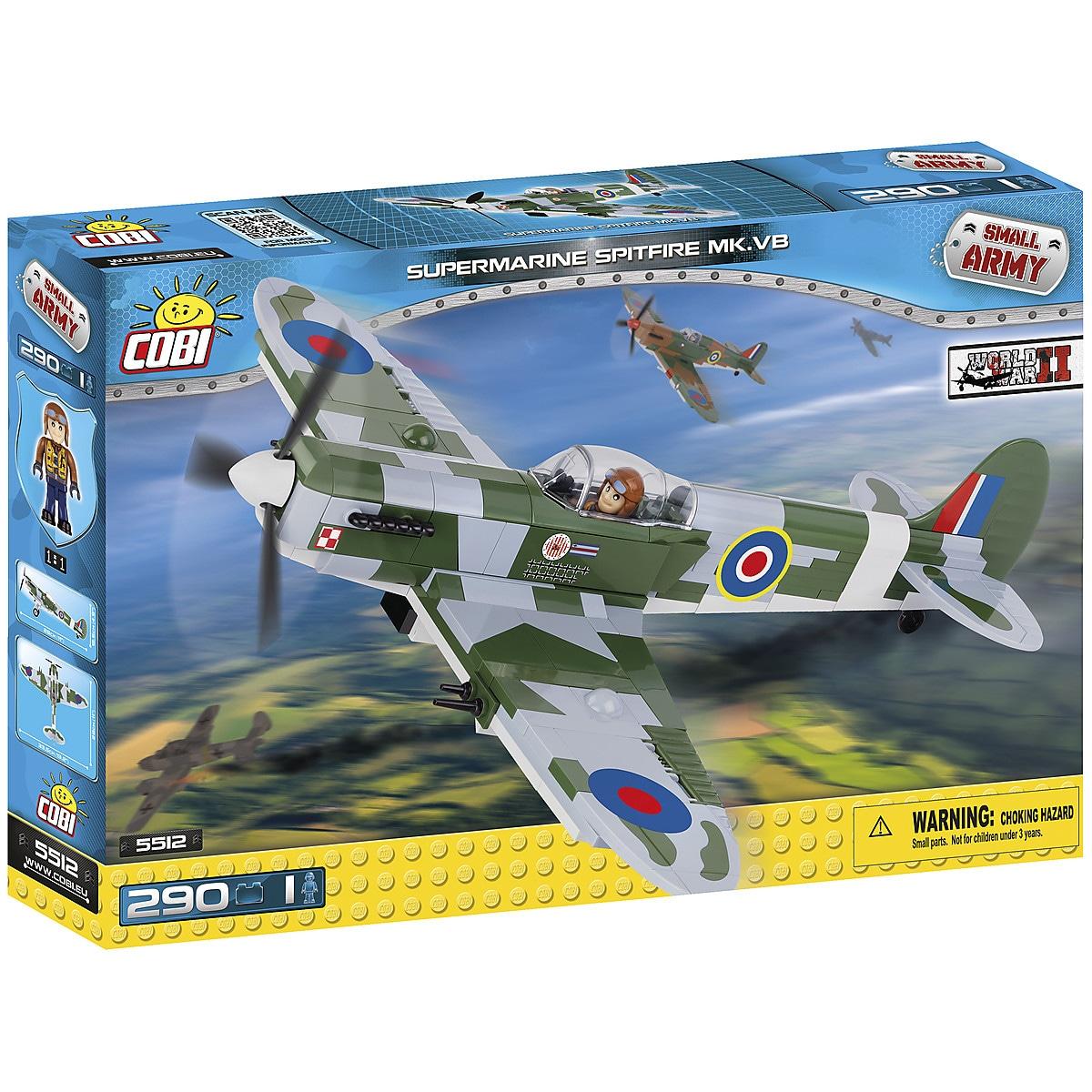 Rakennussarja Spitfire Mk. VB Cobi
