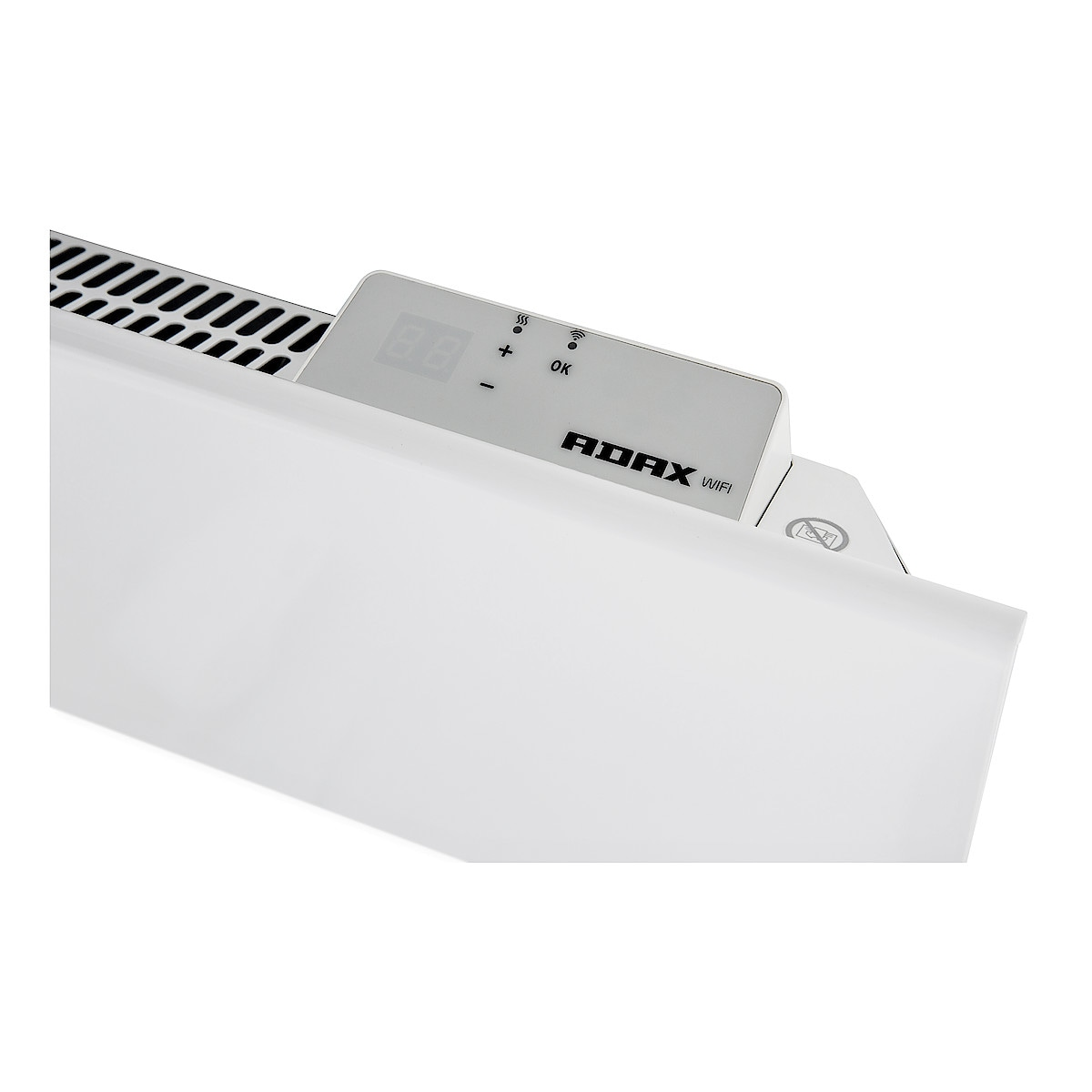 Element med WiFi 600 W 230 V Adax Neo H06KWT