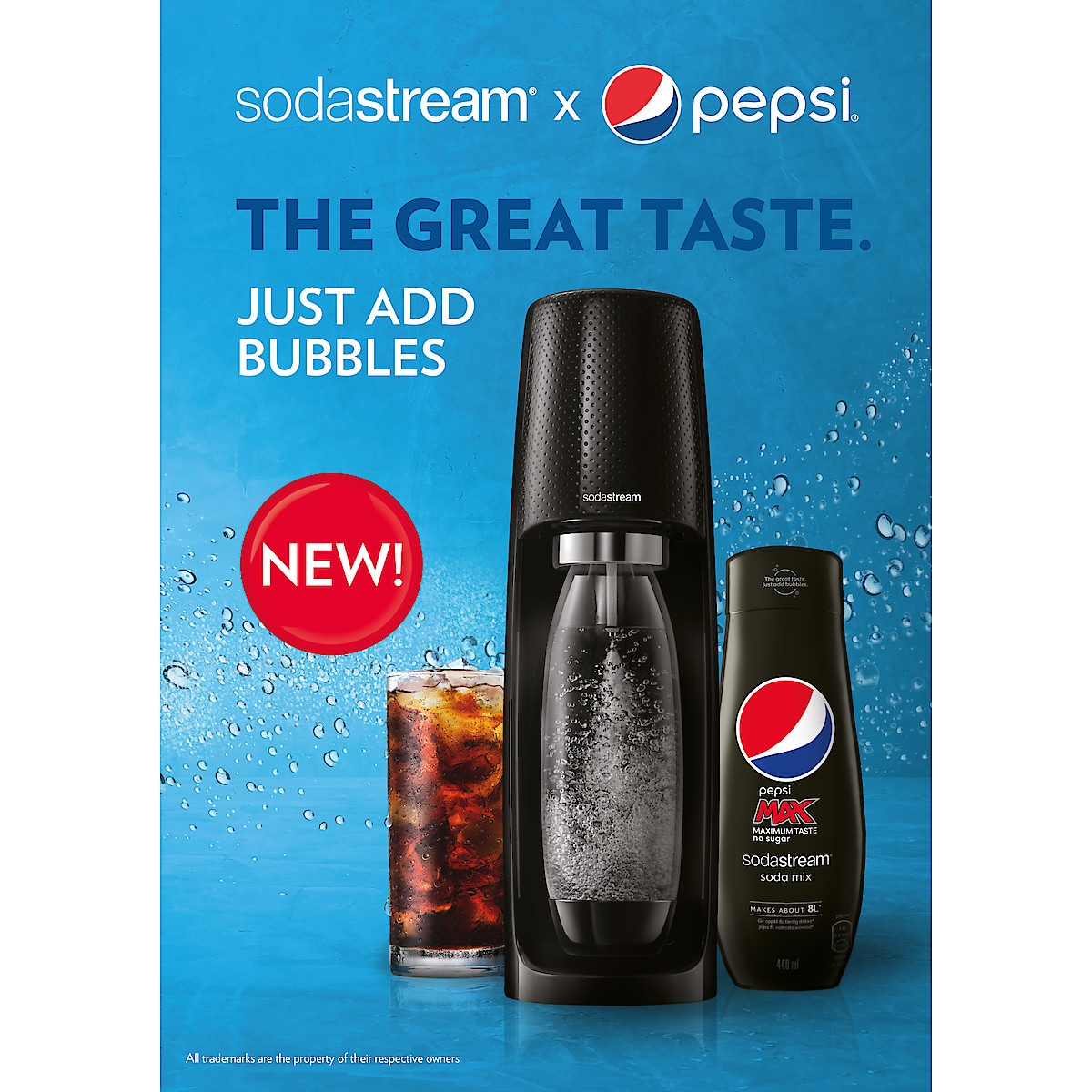 Sodastream Pepsi Max, smakkoncentrat 440 ml